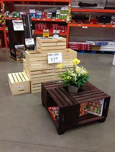 25 best ideas about crate coffee tables on pinterest With white crate coffee table