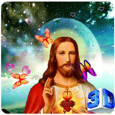 3d Jesus Wallpapers by 3d Jesus Live Wallpaper Appstore For Android