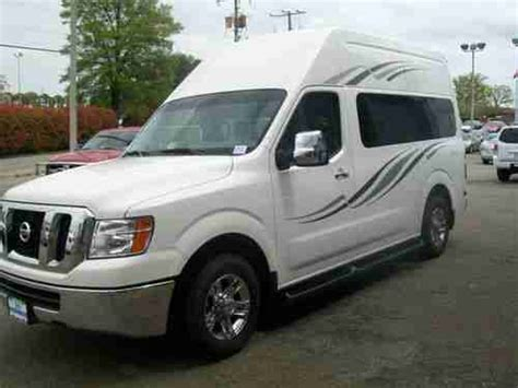 Nissan Conversion by Purchase New Nissan New 2012 Nv2500 High Top Conversion