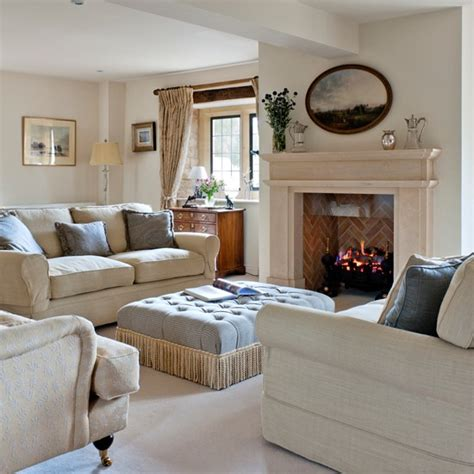 Neutral Family Room by Neutral Opulent Living Room Housetohome Co Uk