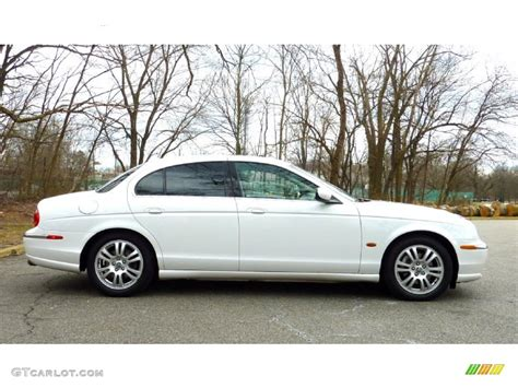 White Onyx 2003 Jaguar S-type 4.2 Exterior Photo #79116229