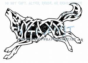 Running Knotwork Wolf by WildSpiritWolf on DeviantArt