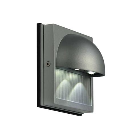 led exterior lighting dacu led outdoor wall sconce by slv lighting 8152041u