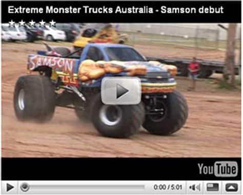 youtube monster trucks racing samson monster truck hall of fame news monstertrucks