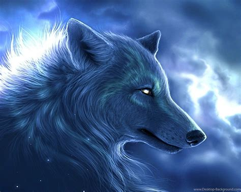 Artistic Anime Wallpaper - wolf wallpapers artistic wallpapers desktop background