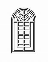 Window Coloring Pages Printable Getcoloringpages sketch template