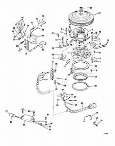 Johnson Ignition System Parts For 1979 55hp 55el79c