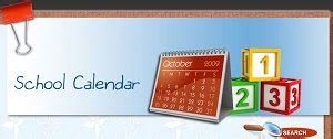 school calendars overview