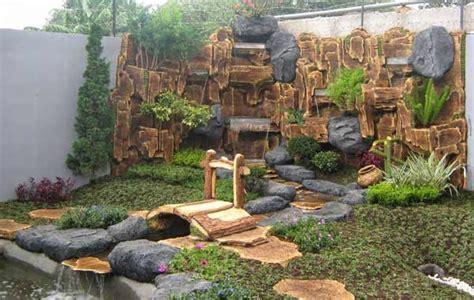 inspirasi desain taman kolam minimalis desain taman