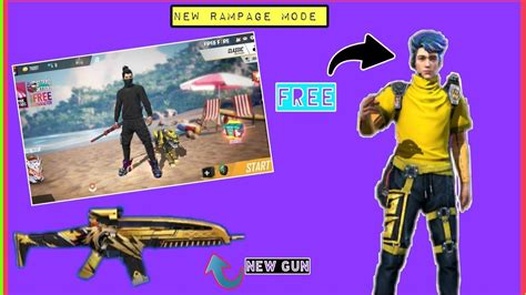 Garena free fire pc is the brainchild of 111 dots studio and published by singaporean digital services company garena. Greena Free Fire New Update Rampage Session 2020 🎉 - YouTube