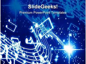 Musical Notes Background Powerpoint Templates And Powerpoint Backgrounds 0711