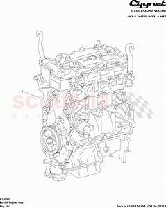 Aston Martin Cygnet Partial Engine Assembly Parts