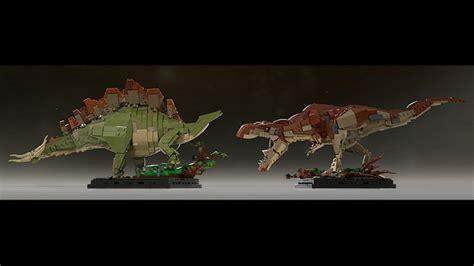 The Lost World Jurassic Park Logo Lego Ideas Product Ideas Bricksauria Tyrannosaurus Rex