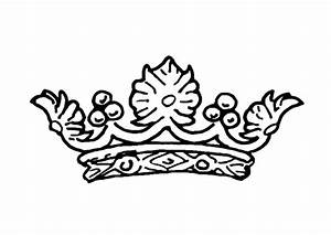 Princess Crown Coloring Page - AZ Coloring Pages