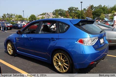 blue subaru wrx hatchback benlevycom
