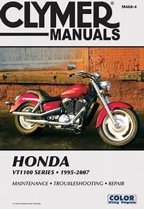 Clymer Manuals Honda Vt1100 Shadow 1995-2007