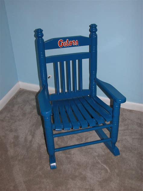 fernwood designs child s fl gator rocking chair