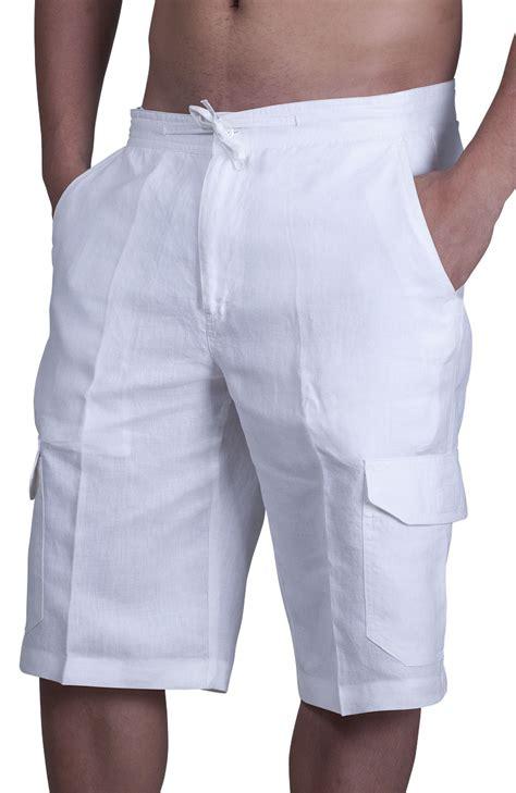 Beach Wedding Linen Shorts for Men   The Casual Destination Wedding