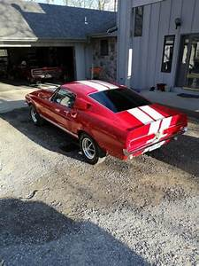 1968 Ford Mustang Sportscar Red Rwd Manual Fastback Gt 350