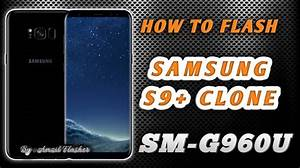Cara Flash Samsung S9  Replika Sm