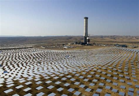 Солнечная энергия в израиле solar power in israel