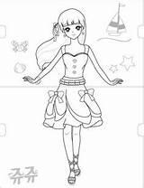Coloring Jouju Secret sketch template