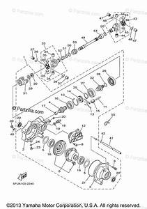 Yamaha Atv 2004 Oem Parts Diagram For Front Differential