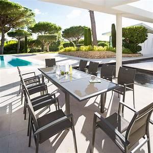 Hesperide Garden Furniture. emejing table jardin extensible ...