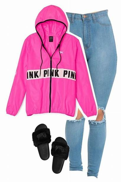 Outfits Dope Pink Polyvore Victoria Secret Clothing