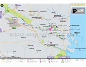 Buy Valencia City Map
