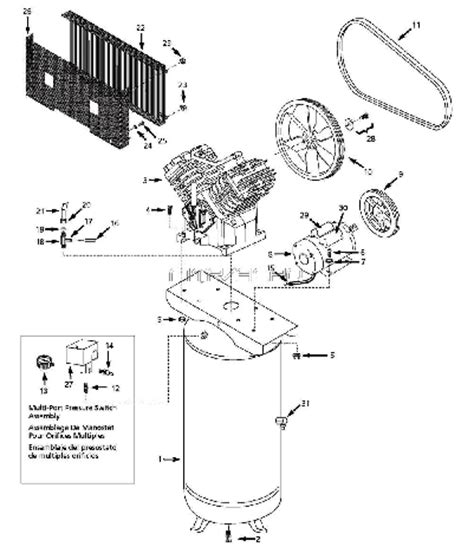 craftsman user manual  air compressor auto electrical