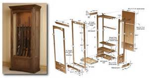 3 gun cabinet plans to try for an aspiring woodworker