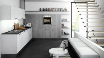 küche grau schueller kueche grau weiss anthrazit möbelland hochtaunus bad homburg frankfurt