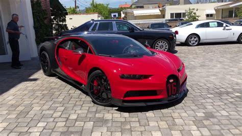 2019 bugatti chiron sport startup beverly 1 of 1