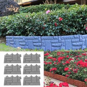 6pcs, Garden, Fence, Outdoor, Landscape, Fencing, Flower, Barrier, Border, Edging, Decorations