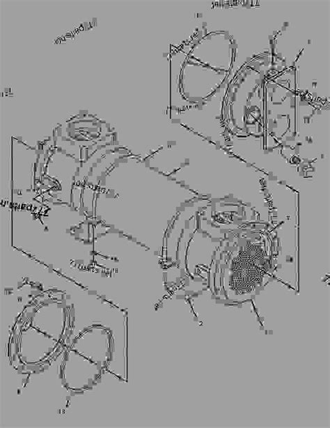 C 15 Cat Engine Cooling Diagram by 4w5891 Cooler Engine Engine Marine