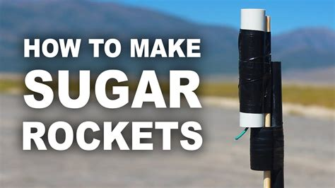 how to make a l make your own rocket engine using sugar and kitty litter