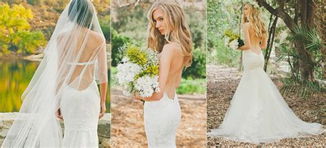 Backless Wedding Dresses Tulle And Chantilly Wedding Blog