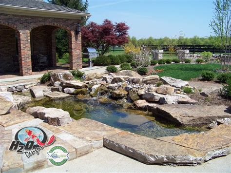 koi pond ideas koi pond backyard pond small pond ideas for your kentucky landscape louisville by h2o designs