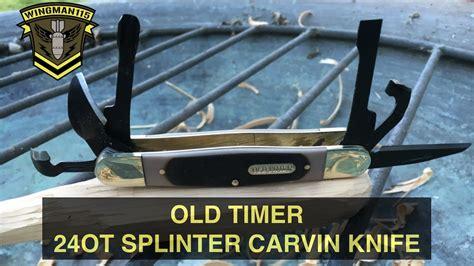 timer ot splinter carvin knife backyard fun youtube
