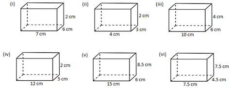 worksheet  volume   cube  cuboid  volume