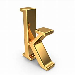 gold small letter k png images psds for download With gold letter k