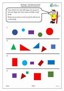 2d, Shapes, The, Odd, One, Out, 1