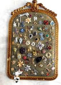 Vintage Costume Jewelry Displays