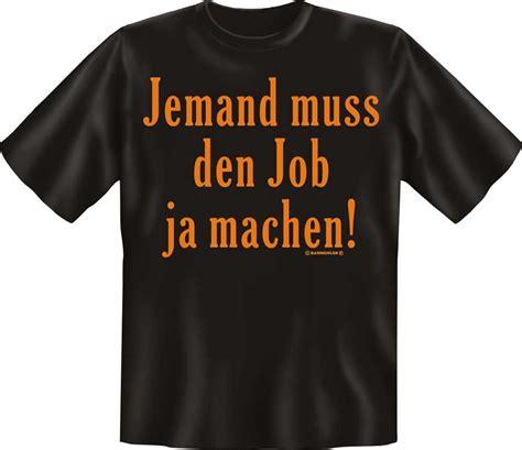 Jemand muss den Job ja machen! - T-Shirt - Textilien - XL