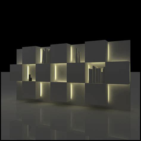 tv wall unit modern design tv wall unit modern design x 07 3d models cgtrader com