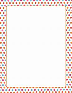 Free Simple Borders For School Projects On Paper, Download ...