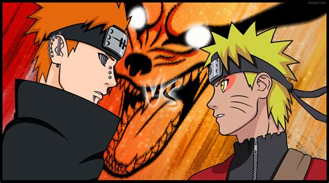 Naruto Vs Pain Wallpapers ·①