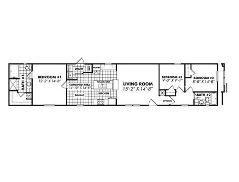 16x80 single wides mobile home floor plans single wide mobile home interior design search
