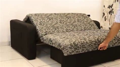 sofa cama casal daiane mansao moveis youtube